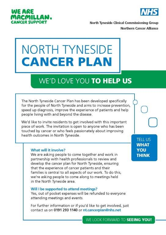 cancer plan poster